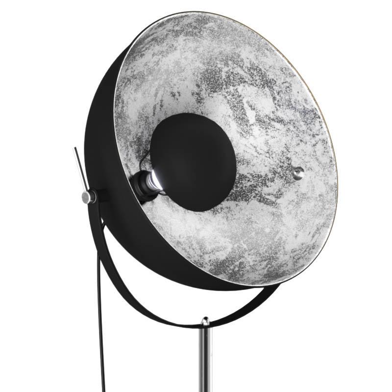 Pastatomas šviestuvas ANTENNE Black/Silver